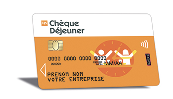Carte Up.Cheque Dejeuner Groupe Up